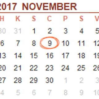 17november9
